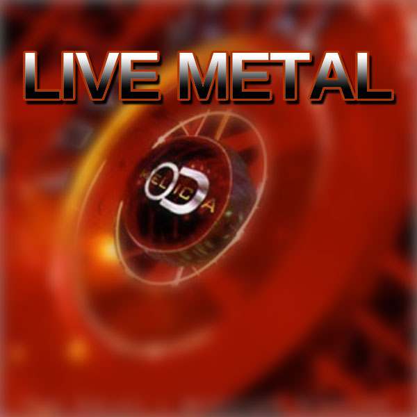 Melodica - Live Metal cd cover
