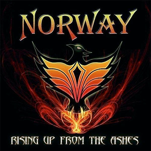 Norway - Rising Up From The Ashes cd cover